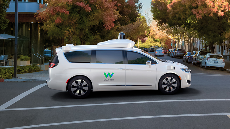 Google's Waymo is one of many companies experimenting with autonomous driving vehicles.